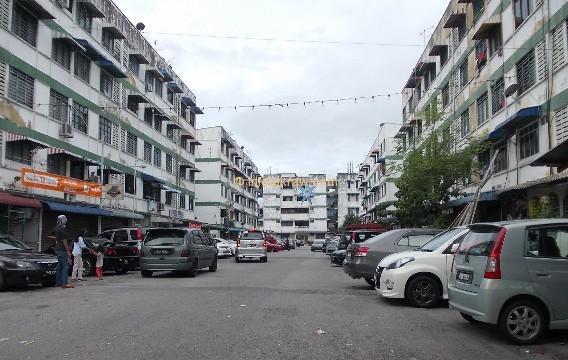 Abidin ปาร์คปีนังถนนสีเงิน