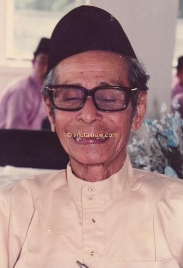 Hamid Mydin at age 72 years