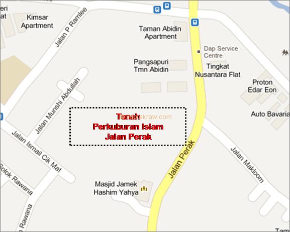 ペラ道路イスラム教徒の墓地
