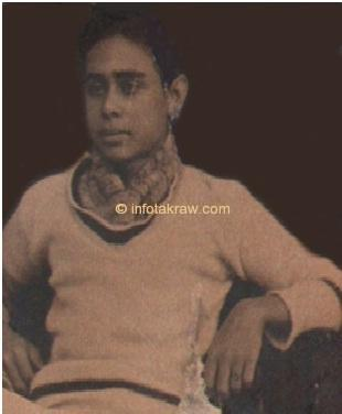 Hamid Mydin in adolescenza