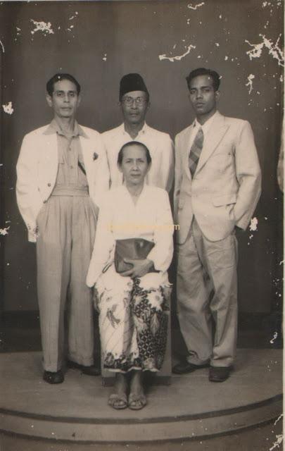 Хамід Mydin любив матір, HJH Че Ям Закарія, Мохд Rouse Mulasa і Халім Абу Бакар