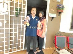 Mohd Sahar Omar dan Isteri, Asiah Mohd Noor
